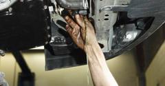 Draining oil